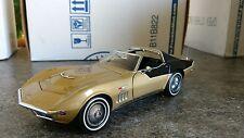 Franklin Mint 1969 Corvette Apollo 12 Coupe Nbr Ltd Ed of 427 MIB 1:24