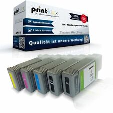 5x ECOLINE Cartuchos de tinta para Canon imageprograf-ipf670 Tinta Casettes