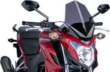 PUIG NAKED NEW GENERATION WINDSHIELD (DARK SMOKE) 6437F Fits: Honda CB500FA ABS,