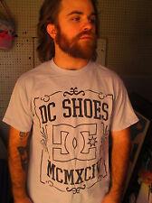 DC SHOES Beige 100% Cotton Size M T-Shirt