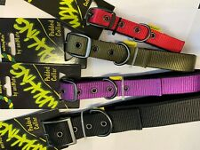 WalkingMate soft padded neoprene nylon collars (matching leads available)