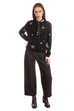 RRP €580 RED VALENTINO Jumper Size L Cashmere Angora & Wool Blend Stars