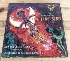 STRAVINSKY The Fire Bird / ANSERMET  DECCA SXL 2017 Original 1950s 1st