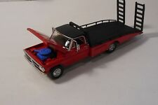 GL 1970 FORD F-350 RAMP TRUCK CAR HAULER TRANSPORT WITH RAMPS AND RUBBER TIRES!
