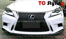 Carbon Fiber Front Lip JDM Style for Lexus IS250 IS350 IS300h 13-15
