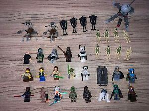 Lego star wars minifigure huge lot (RARE FIGURES)