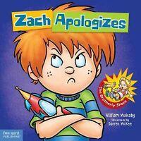 Zach Apologizes, Hardcover by Mulcahy, William; McKee, Darren (ILT), Brand Ne...