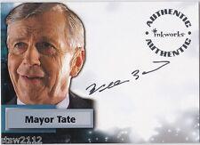 Smallville Season 3 A19 William B. Davis Mayor Tate Autograph The X-Files
