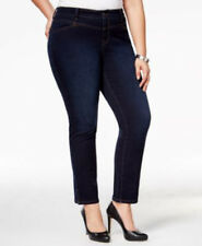 STYLE & CO Woman Plus Size 18W Black Rinse, Ankle, Mid Rise Jean $60 NWT
