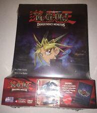 New YUGIOH Dungeon Dice Monsters Starter Set DVD Blue-Eyes White Dragon Rare