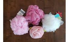Lot of 4 NEW Loofah Scrub Bath Body