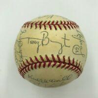 1995 Chicago White Sox Team Signed Baseball Frank Thomas Tim Raines Ventura