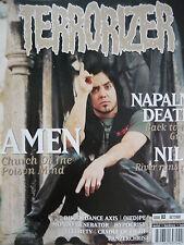 TERRORIZER 83 - AMEN/NAPALM DEATH/HYPOCRISY/NILE/PANZERCHRIST