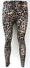 Leopard Cheetah Animal Print Pattern Legging Tight UK Size 8-10