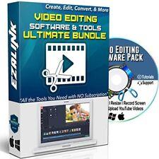 Software de edición de vídeo grabar Trim Corte Split fusionar Girar Y Mezclar Vídeos PC DVD