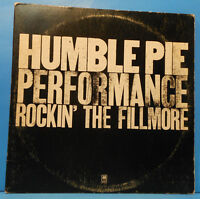 HUMBLE PIE ROCKIN' THE FILLMORE 2XLP PETER FRAMPTON GREAT CONDITION! VG+/VG!!C