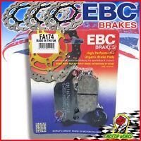 Pastillas Freno Orgánico EBC Traseros Honda CBF Edición Limitada 1000 2012