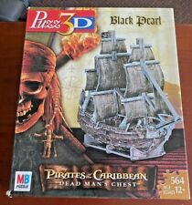 """Pirates of the Caribbean 3D Puzzle """"Black Pearl"""" 2005 564 Pieces"""