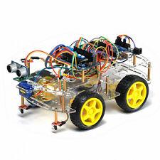 4WD Arduino Smart Robot voiture kit pour débutants DIY Smart Robot Programmable