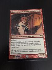 MTG MAGIC MIRRODIN VULSHOK BATTLEMASTER (FRENCH MAITRESSE DES BATAILLES) NM FOIL