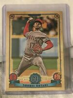 2019 Topps Gypsy Queen SHOHEI OHTANI Los Angeles Angels NON AUTO