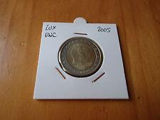 2 EURO COMMEMORATIVE LUXEMBOURG 2005 NEUVE/UNC