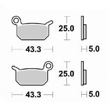 Pastillas de freno Ktm 50 sx pro senior lc 2006-2010 delantera y trasera S1991 K