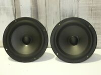 2 X POLK AUDIO RT8 (MW7009) REPLACEMENT USED BASE DRIVER LOUDSPEAKERS