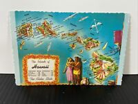 THE ISLAND OF HAWAII: THE ALOHA STATE  POSTCARD (PLASTICDROME BOSTON) VINTAGE!