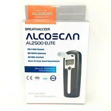 ALCOSCAN Digital Breath Alcohol Detector Breathalyzer AL 2500 elite NEW