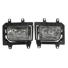 Front Bumper Clear Plastic Fog Lights For BMW E30 318i 318is 325i 85-93 Perfect
