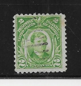 PHILIPPINES Stamps- Scott # 290/A40-2c-Canc/H-1917-25-NG