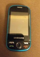 Samsung Messager Sch-R631-Blue~Alltell Carrier~Slider Cell Phone touch screen