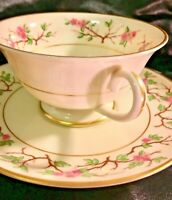 Franciscan Pottery Woodside Fine China Cup & Saucer Set Mint