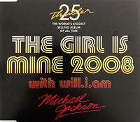 Michael Jackson With Will.I.Am Maxi CD The Girl Is Mine 2008 - Australia (M/M)
