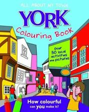 Like New, York Colouring Book: All About My Town, Home Town World, Paperback
