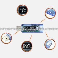 Chargeur USB Medical puissance détecteur test de batterie de courant Testeur de Tension UK