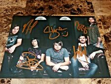 Silverstein Band SIGNED Photo Autographed Free Shipping Guaranteed Authentic !