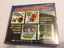 NORTHWEST PASSAGE - Classic Western Score... OOP FSM Score OST Soundtrack 3CD NM