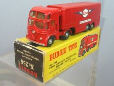 BUDGIE TOYS MODEL No.256  FODEN 'ESSO AIRCRAFT REFUELLING TANKER 'PLUTO' VN MIB
