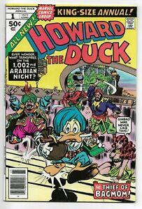 Howard the Duck Annual #1 Marvel Comics 1977 VF