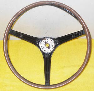 1967 Mercury Cougar Stndrd XR7 GT 6.5 Litre ORIG BLACK WOOD GRAIN STEERING WHEEL