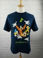 Mickey Mouse T Shirt Medium Walt Disney World Vintage Double Sided Goofy Pluto