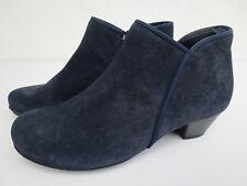 GABOR Leder Schuhe blau Gr. 34 35 UK 2,5 Ankle Boots NEU Stiefeletten