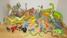 """Vintage 1980's -90's lot of 43 prehistoric animals 1-1/2""""-11"""" - all Vgc & Clean"""