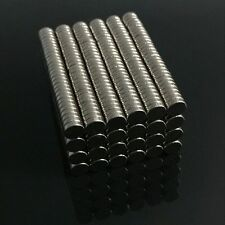 100/200Pcs Strong N50 Neodymium Magnets Rare-Earth Round Disc Fridge Craft 4x1mm