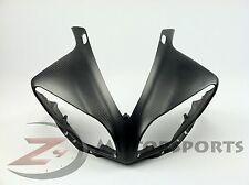 2009 2010 2011 Yamaha R1 Upper Front Nose Fairing Cowl 100% Carbon Fiber Matte