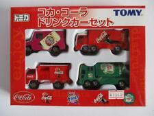 Takara Tomy Tomica Coca-Cola drink car set 4 cars  Mini Vintage 2000 Japan New