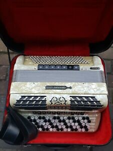Akkordeon Knopfakkordeon Bugari Seniorfisa 120 Bass