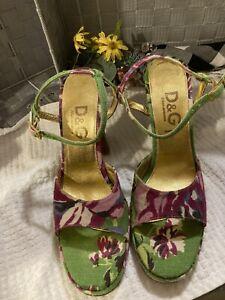 DOLCE & GABBANA Sandals Size 9